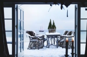 Adecuar la terraza para disfrutarla en invierno