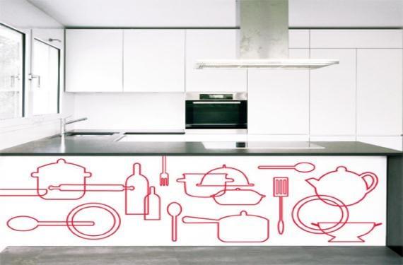 vinilos cocina