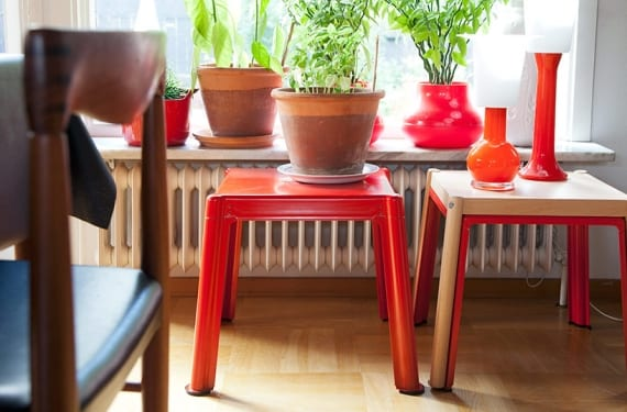 Mesas nido apilables de la colección Ikea PS 2012