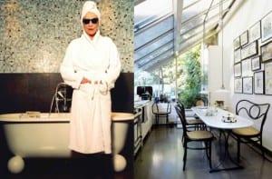 Andrée Putman y una cocina ideada por ella
