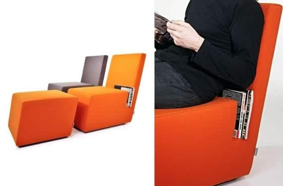 Book lounge chair de Jean Francois d'Or