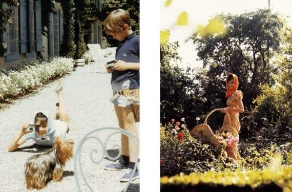 Imágenes de Audrey Hepburn disfrutando de su hogar