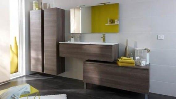 Cuarto de baño: lavabos óptimos para guardar