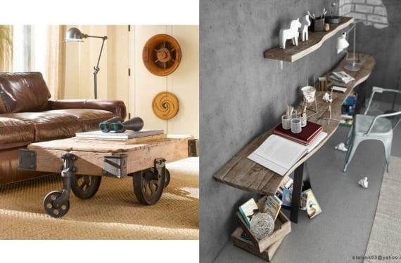 Ambientes de estilo industrial - Muebles industriales antiguos ...