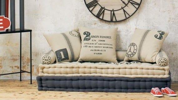 Un sofá cama para los niños