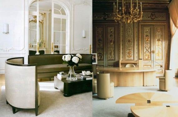 Otros ejemplos de sus trabajos como decoradora de interiores