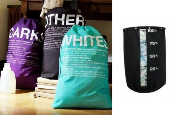 Cestos y bolsas de tela para la ropa sucia - Cestos para la colada ...
