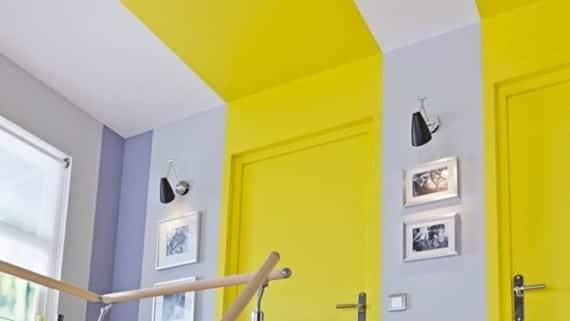 Puertas y techo ultra coloridos