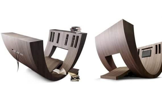 Kosha, un espacio de lectura portátil, de Claudio D'Amore