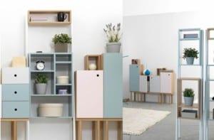 Still life shelves de la firma italiana Ex.t