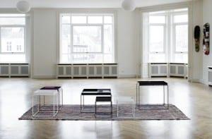 Tray tables de la colección de la firma danesa Hay