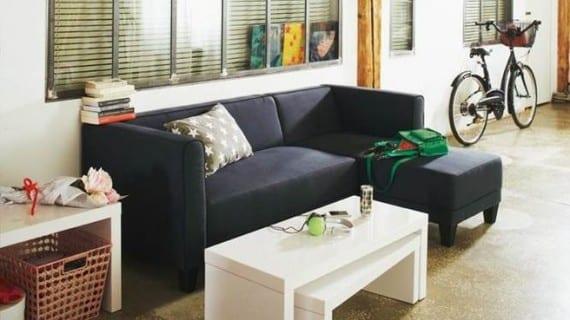 El espíritu de taller invade la sala de estar