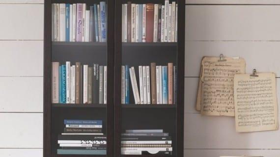 Una biblioteca en mi vitrina