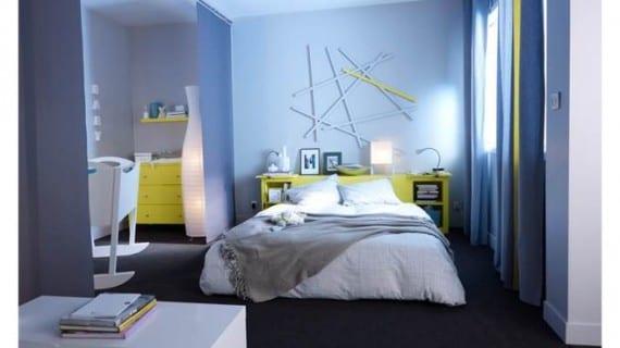 Una habitación, dos actividades