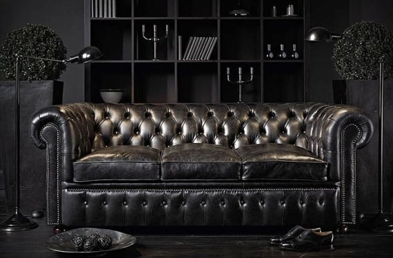 Willian Blake Chesterfield sofa