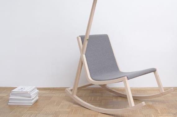 Murakami Rocking Chair, diseño americano de Rochus Jacob