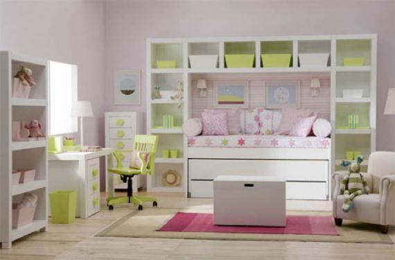 Aprovechar al m ximo una habitaci n infantil - Aprovechar espacio dormitorio ...