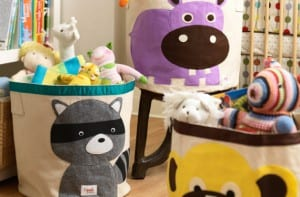 Accesorios de almacenaje para niños