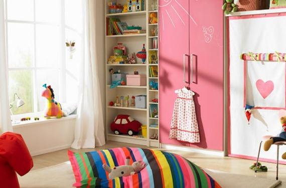 Aprovechar al m ximo una habitaci n infantil - Decoracion habitacion infantil pequena ...