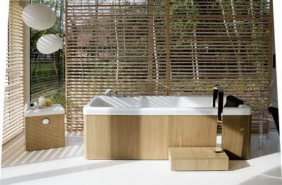 Reviste tu baño de madera