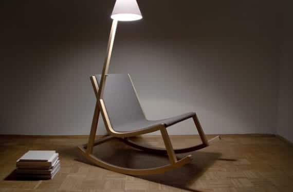 Murakami Rocking Chair, diseño de Rochus Jacob