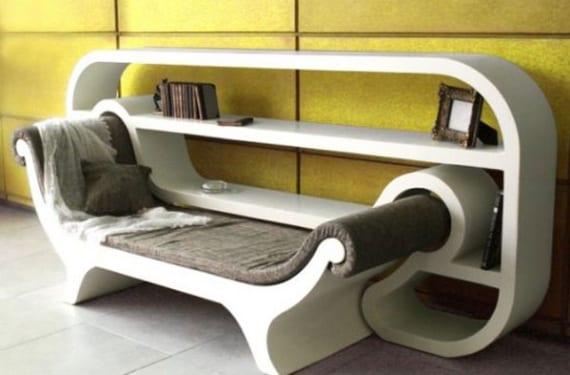 """""""Recamier Reading Corner""""  diseñado por Inbar Paradny Kalomidi."""