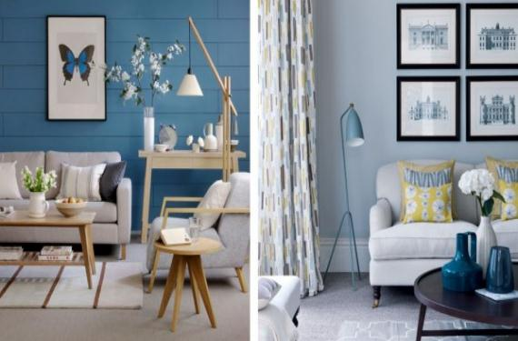 Los colores más relajantes para decorar tu casa