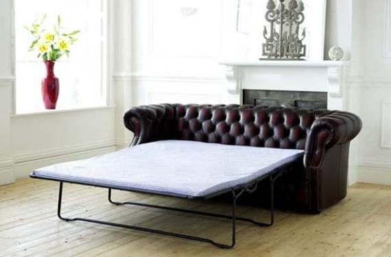Sofá cama Chesterfield modelo Richmond