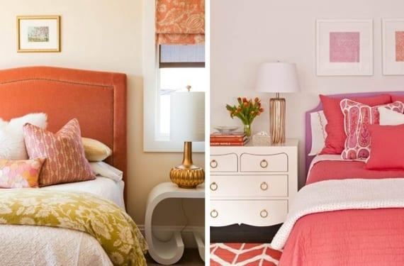Dormitorios en coral
