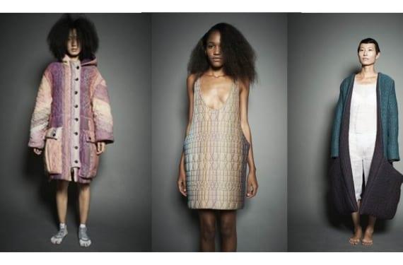 Diseños de Borre para la semana de la moda de París en 2011