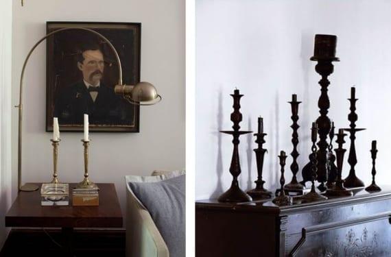 Como decorar con candelabros