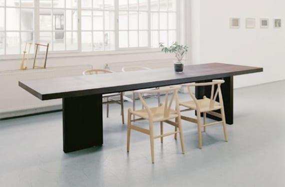 Mesa en madera de la firma E15