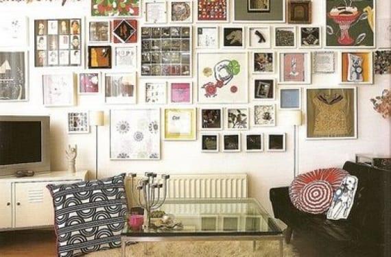 Una galería de arte en casa