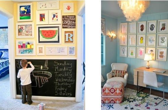 Arte en dormitorios infantiles