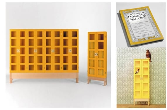 Bookcase for National Geographic magazines