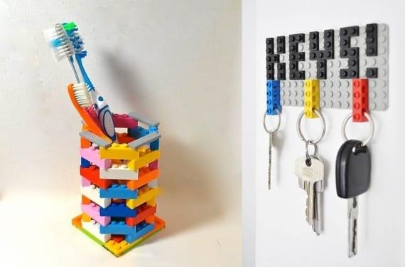 Accesorios con Lego