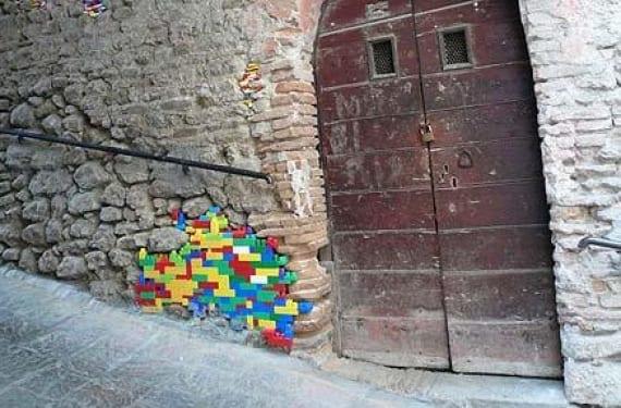 Restaurar edificios con Lego