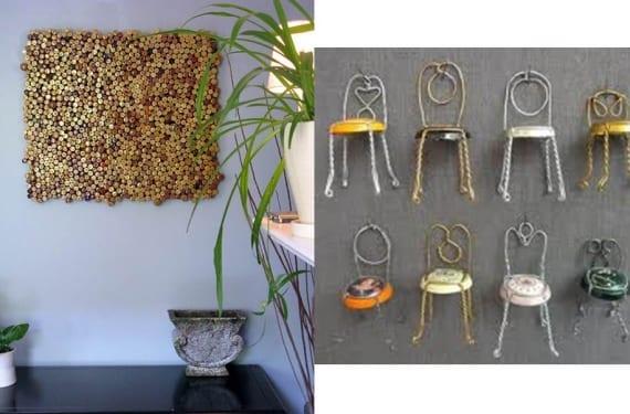 Tapones y corchos para decorar