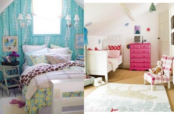 Dormitorios en áticos abuhardillados