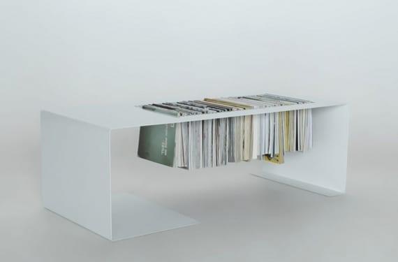 Mesa revistero minimalista