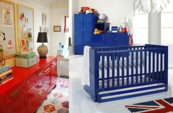 Muebles en alto brillo para dormitorios infantiles