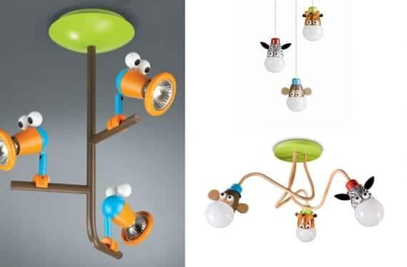 Luminarias infantiles para todos los gustos - Lamparas techo ninos ...