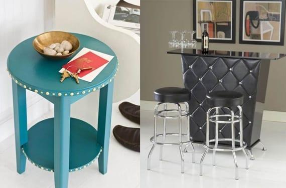 Mesas con tachuelas