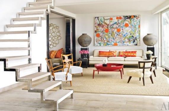 Apartamento decorado por Alberto Pinto en la playa de Ipanema