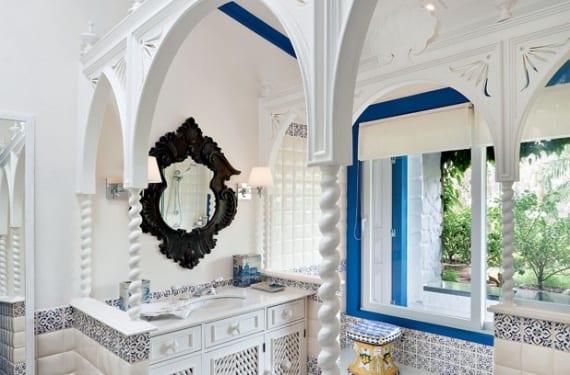 Baño diseñado por Alberto Pinto