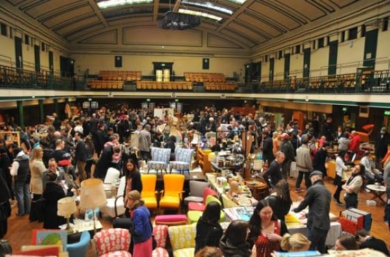 Flea Market en Bethnal Green, Londres