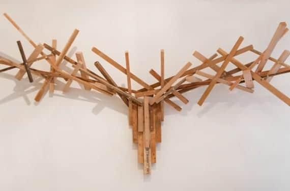Ciervo abstracto decoración