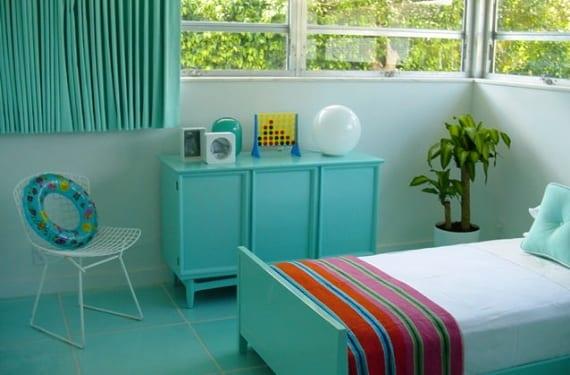 Dormitorio juvenil en agua