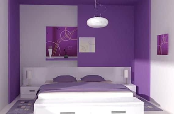 C mo pintar una habitaci n de manera original - Pintura de dormitorios ...