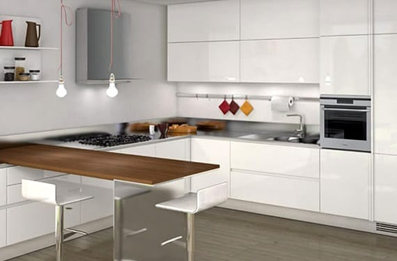 Ideas para decorar una cocina minimalista - Ideas para decorar tu cocina ...